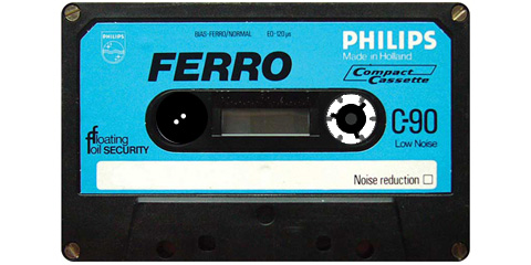 Tape philips c90 stop